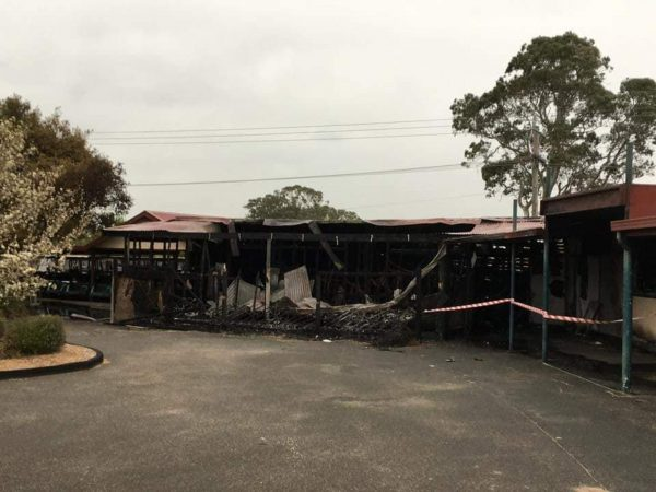 Keysborough golf club fire