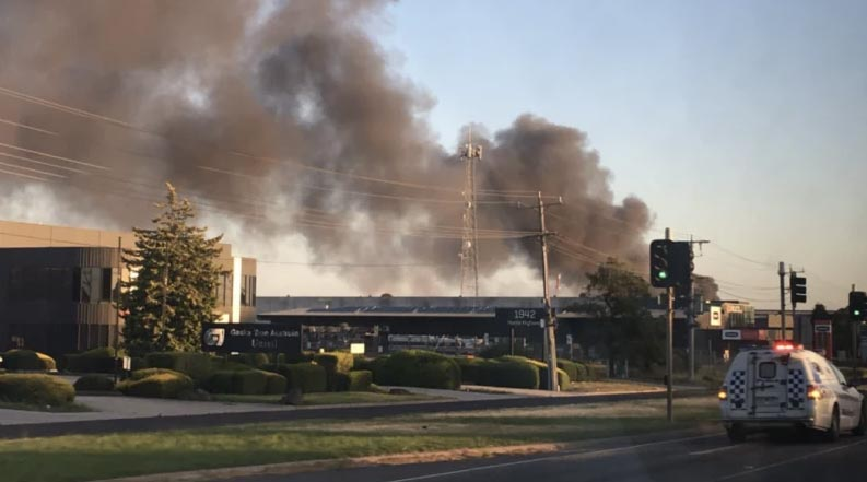 Campbellfield factory fire