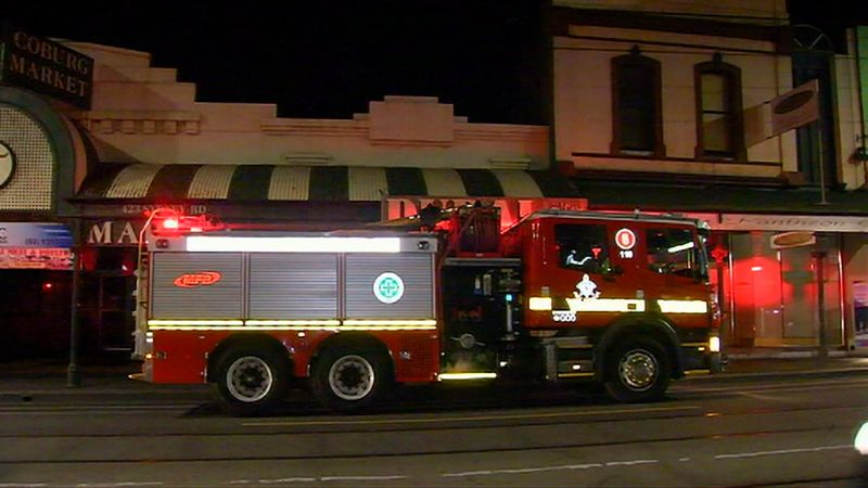 Coburg restaurant fire