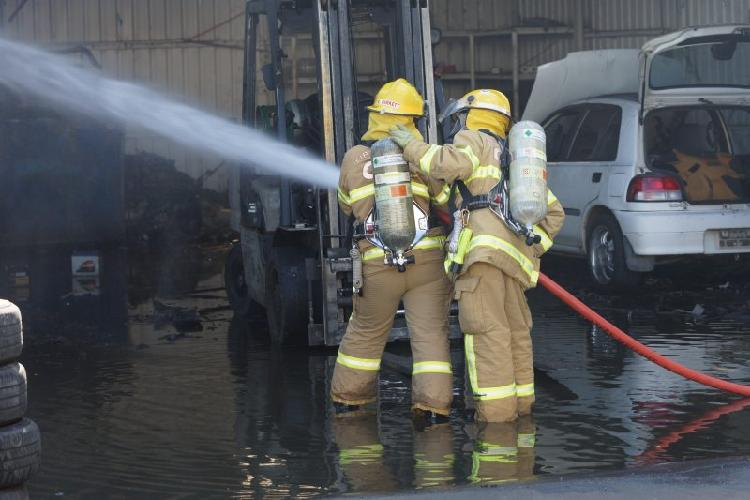 Dandenong warehouse fire