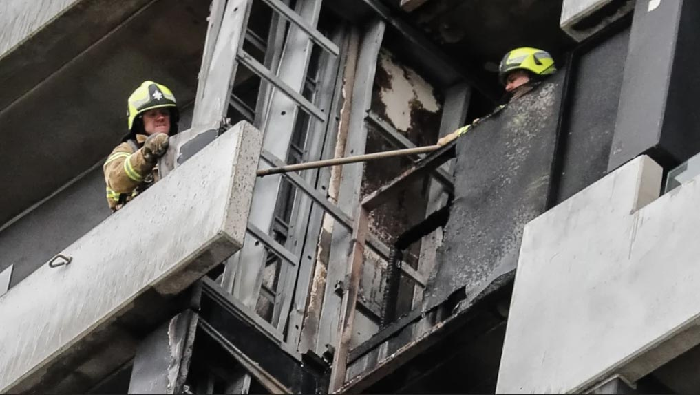 Melbourne CBD apartment building fire