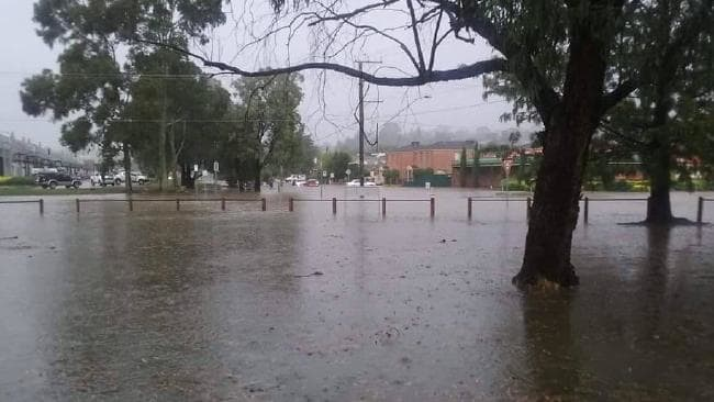 Upwey floods